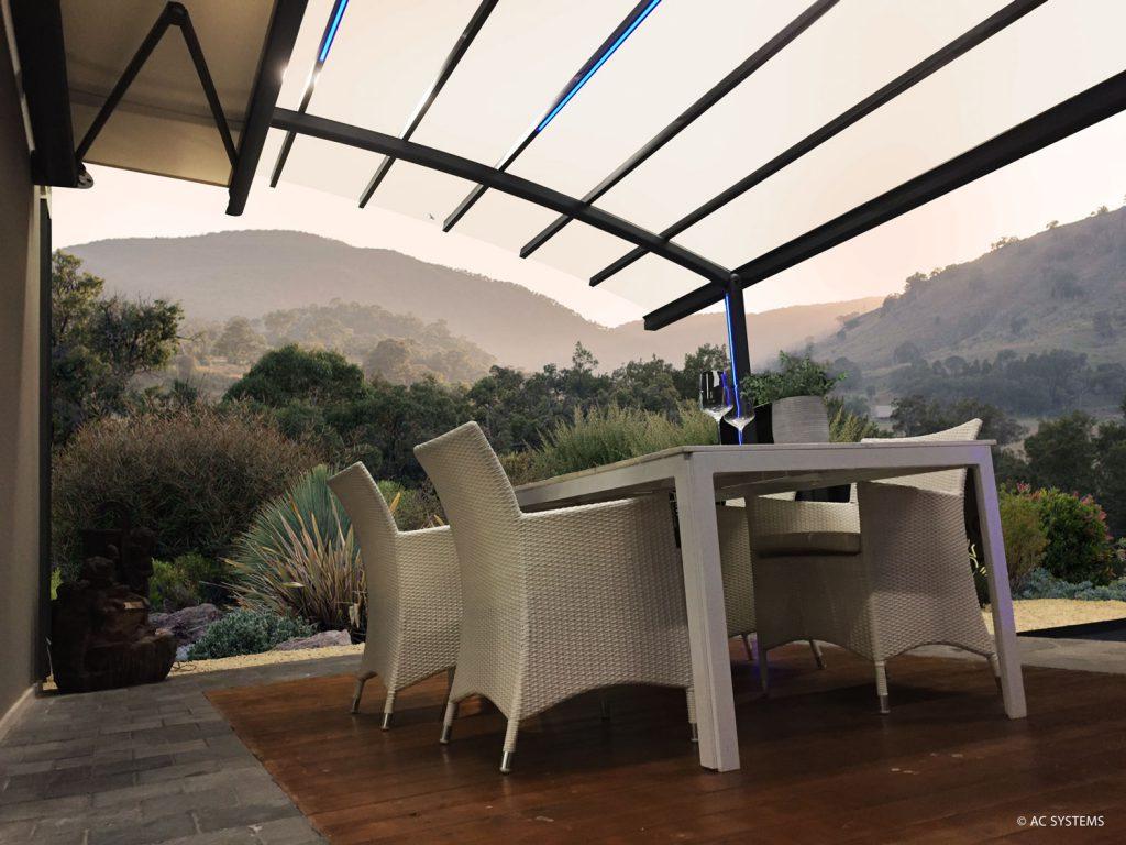 AC Systems terras overkapping genieten zonnewering zonneluifel