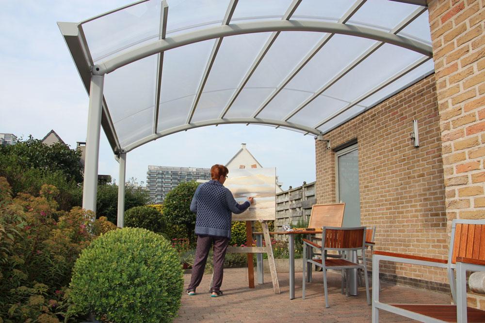 AC Systems schaduwgevend terras overkapping kunst genieten