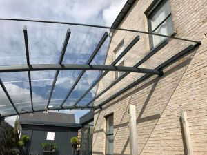 AC Systems carport glasheldere dakbedekking
