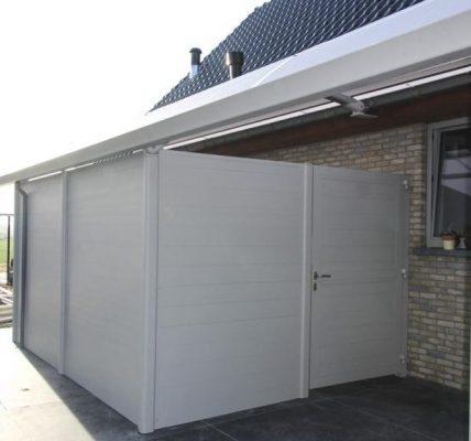 AC Systems carport met berging