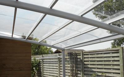 AC Systems | Strakke glasheldere carport