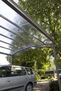 AC Systems carport glashelder strak