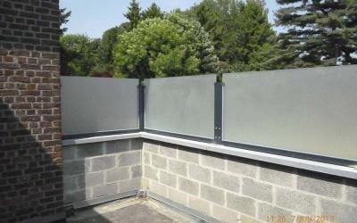 AC Systems | gezuurde zijwand op bestaande muur