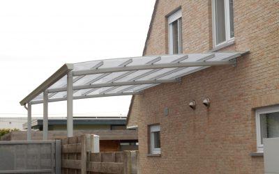 AC systems verhoogde carport voor mobilhome